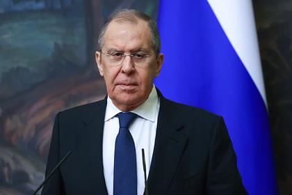Лавров обвинил ЕС и Украину в попытке выставить Россию агрессором