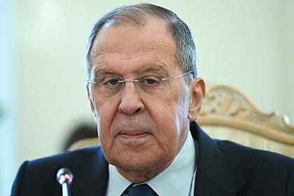 Лавров сообщил о приостановке работы постпредставительства России при НАТО