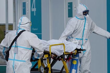 В России зафиксировали 1028 смертей пациентов с COVID-19