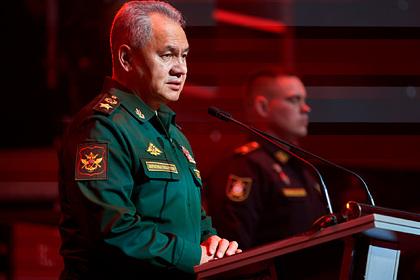 Шойгу рассказал о новой военной доктрине России и Белоруссии