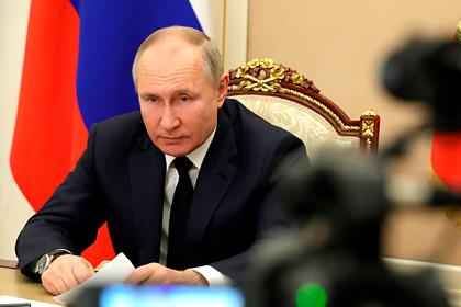 Песков обозначил время начала совещания Путина по коронавирусу