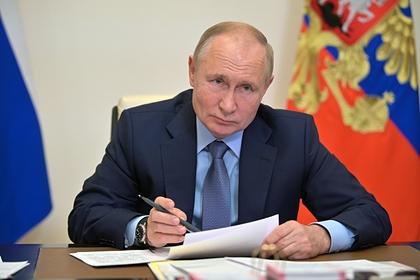 Путин одобрил предложение о нерабочих днях с 30 октября по 7 ноября