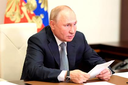 Путин назвал странными своих непривитых однокурсников