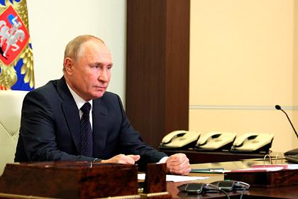 Путин поручил главам некоторых регионов вести нерабочие дни с 23 октября