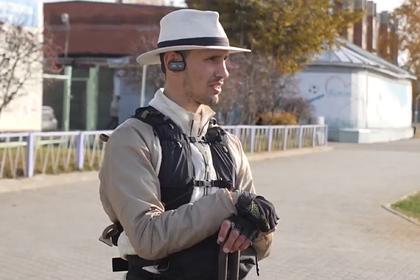 Обошедший Россию пешком путешественник приехал в Тамбов