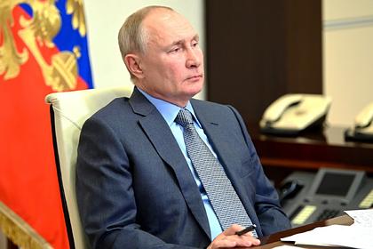 Путин назвал дату подписания документа о нерабочих днях