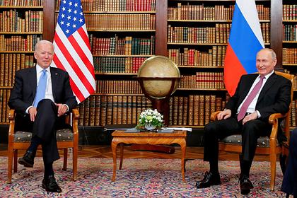 Путин назвал встречу с Байденом в Женеве продуктивной