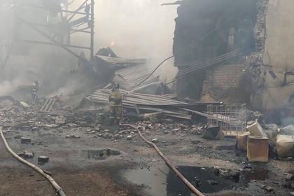 Местная жительница раскрыла подробности о пожаре в цехе завода под Рязанью