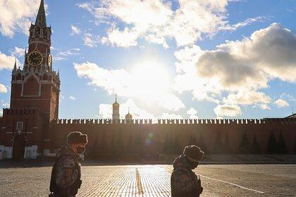 В Москве доступ на Красную площадь временно ограничили