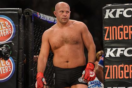 Федора Емельяненко посчитали средним по меркам UFC бойцом