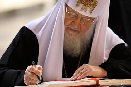 Патриарх Кирилл впервые высказался об опальном отце Сергии