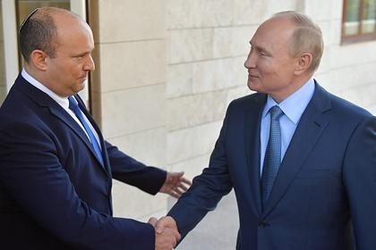 Путин пригласил премьер-министра Израиля в Петербург