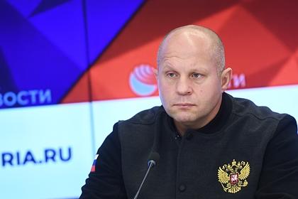 Федор Емельяненко высказался после победы нокаутом над Джонсоном в первом раунде