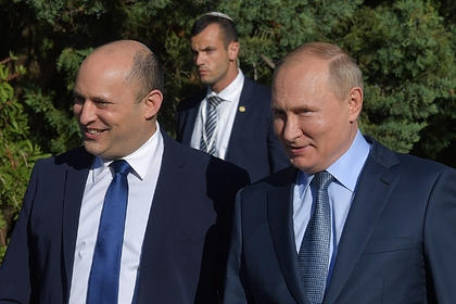 Путин рассказал премьеру Израиля о медведях в Сочи