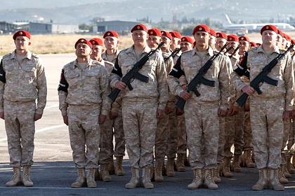 Неизвестные пытались подорвать российскую военную колонну в Сирии