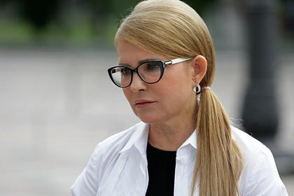 Тимошенко призвала созвать Совбез из-за нехватки кислорода на Украине