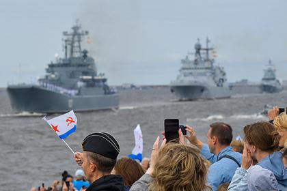 В России не испугались возможности уничтожения Балтийского флота